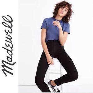 """Madewell 10"""" High-Rise Road Tripper Jeans"""